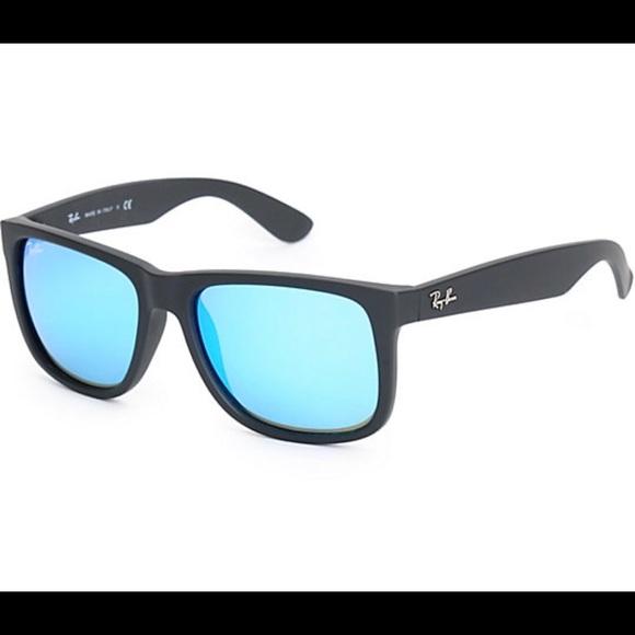 a6ca8fae14 ... netherlands ray ban justin sunglasses mirror lenses 10fa9 18a4c